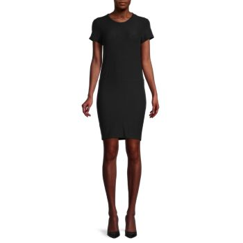 Платье-футболка эластичной вязки James Perse