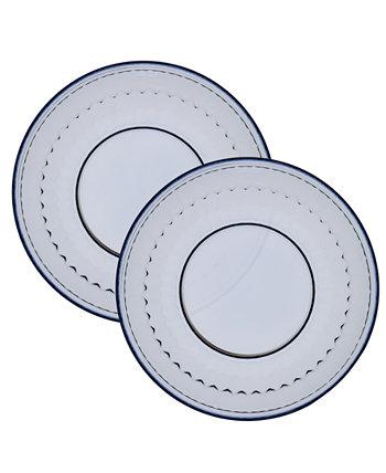 Набор тарелок для салатов Boston Crystal / 2 Villeroy & Boch