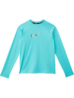 Гидрогвард с длинным рукавом Swoosh (Маленькие дети / Большие дети) Nike Kids