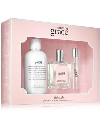 3-Рс. Набор ароматов Amazing Grace, созданный для Macy's Philosophy