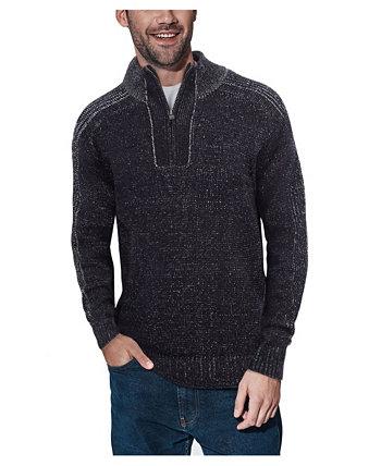 Мужской пуловер с застежкой-молнией X-Ray
