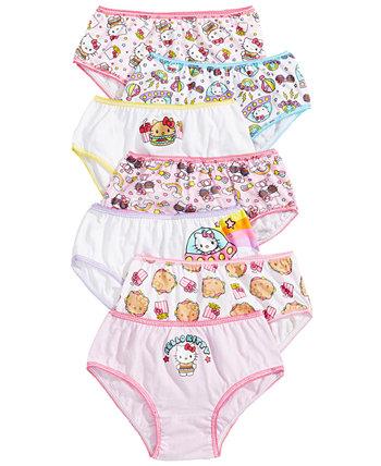 Хелло Китти 7-Pack хлопок белье, маленьких девочек и больших девочек Disney