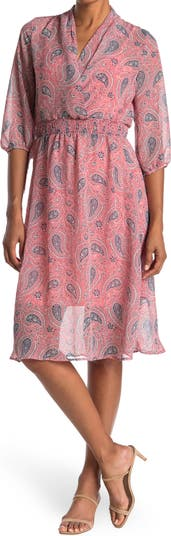 Платье Surplice с принтом пейсли SUPERFOXX