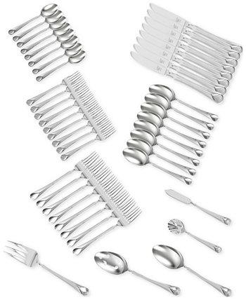 Zwilling TWIN® Brand Provence 18/10, нержавеющая сталь, 45 шт. Набор столовых приборов, сервиз на 8 человек J.A. Henckels