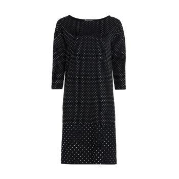 Платье прямого кроя с заклепками Joan Vass