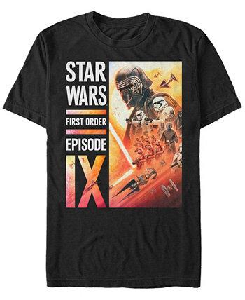 Мужская футболка Kylo Ren с изображением первого порядка Episode IX Star Wars