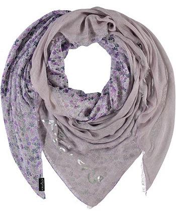 Скриптованный квадратный шарф FRAAS