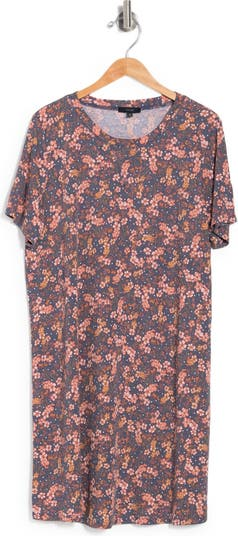 Вязаное платье с цветочным принтом Hacci ECLAIR