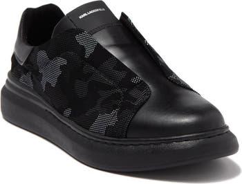 Кроссовки без застежки Karl Lagerfeld с камуфляжным принтом Karl Lagerfeld Paris