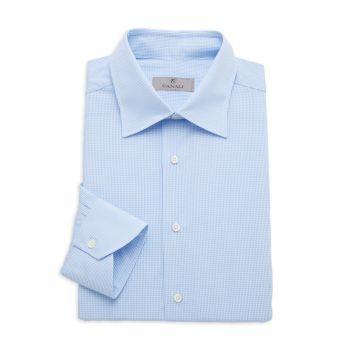 Modern-Fit Check Shirt Canali