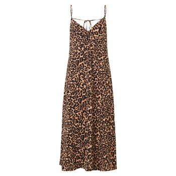 Платье-комбинация Astra с леопардовым принтом BAUM UND PFERDGARTEN