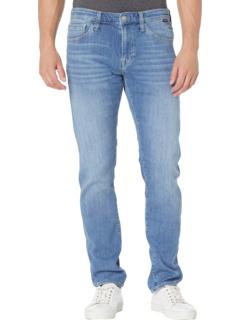 Jake Slim в цвете Light Brushed Feather Blue Mavi Jeans