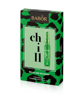 Chill Ampoule Concentrates, набор из 7 частей BABOR