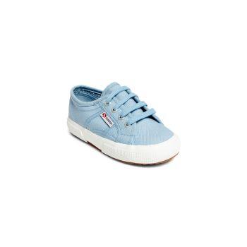 Детские & amp; Детские кроссовки на шнуровке из хлопка Superga