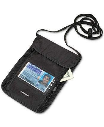 RFID сумка на шею Samsonite