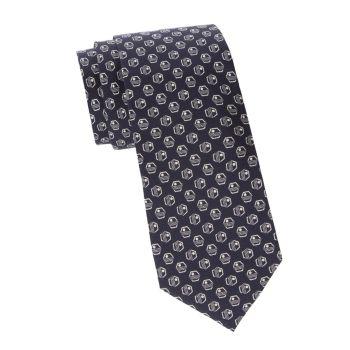 Hexagon Deco-Print Silk Tie LAUREN Ralph Lauren