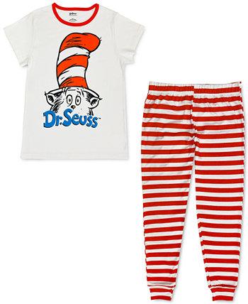 Семейный пижамный комплект с котом в шляпе Dr. Seuss