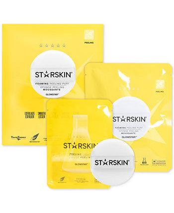 2-Рс. Glowstar Набор пенящихся пилингов STARSKIN