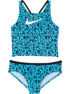 Cheetah Spiderback Midkini (для маленьких и больших детей) Nike Kids