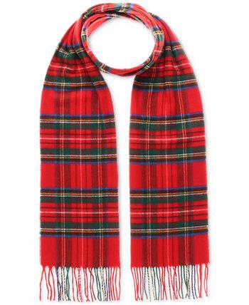 Мужской шарф из кашминка с рисунком V. Fraas