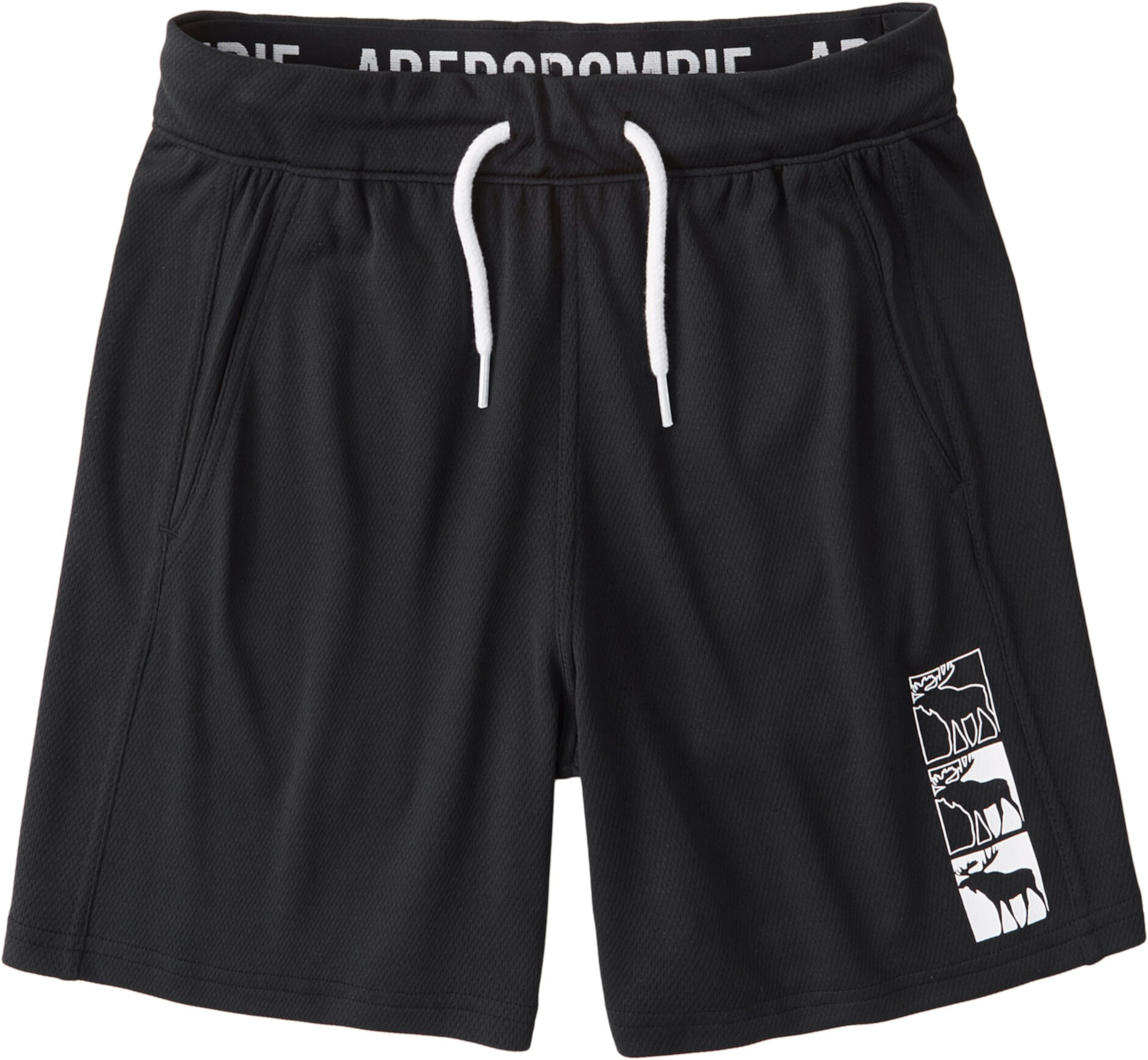 Сетчатые шорты с логотипом (для детей младшего и школьного возраста) Abercrombie kids