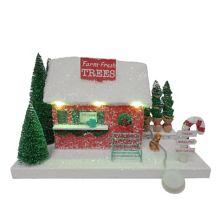 St. Nicholas Square® LED Farm Fresh Trees House Table Decor St. Nicholas Square