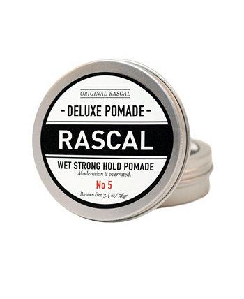 Deluxe Pomade 5, влажный вид или крепкое удержание, 3,4 унции Rascal
