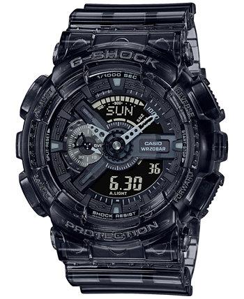 Мужские аналогово-цифровые часы из прозрачной дымчатой смолы 51,2 мм G-Shock