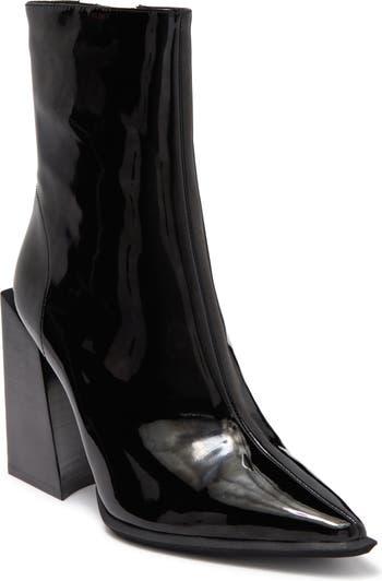 Лакированные ботинки Happy Hour с острым носком Jeffrey Campbell