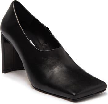 Кожаные туфли Demetria с квадратным носком Miista