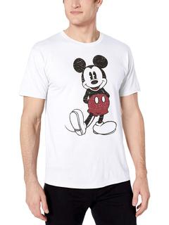 Полноразмерная футболка с эффектом потертости Mickey Mouse Disney