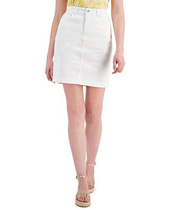 Юбка из плотного денима, созданная для Macy's Style & Co