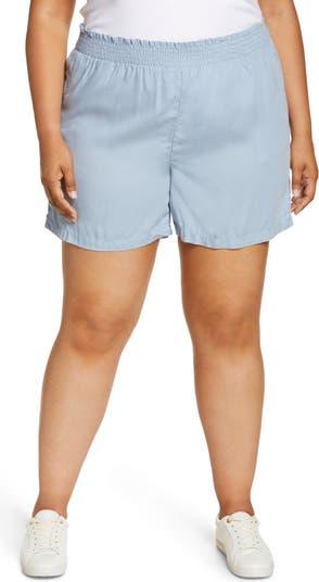 <sup>®</sup> Smock Waist Tencel<sup>®</sup> Shorts Caslon