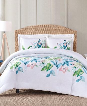Полное тропическое бунгало с кроватью размера «queen-size», 3 шт. Комплект пуховых одеял Oceanfront Resort