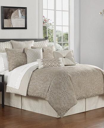 Жаккардовое одеяло Spencer из 4 предметов, King Waterford