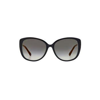 "Солнцезащитные очки Alyf 57MM в оправе ""кошачий глаз"" Jimmy Choo"