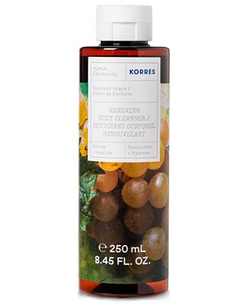 Santorini Виноградное очищающее средство для тела, 8.45 унций KORRES