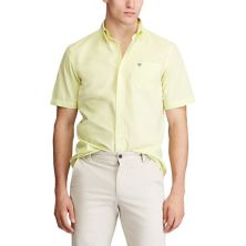 Big & Tall Chaps Classic-Fit Easy-Care Button-Down Shirt CHAPS