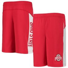 Youth Scarlet Ohio State Buckeyes Down The Field Mesh Shorts Outerstuff