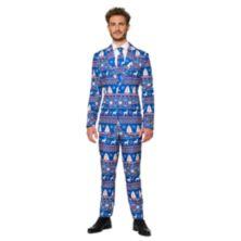 Мужской костюм Suitmeister Christmas Blue Nordic Suitmeister