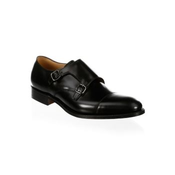 Туфли-монки с двумя кожаными ремешками Detroit Church's
