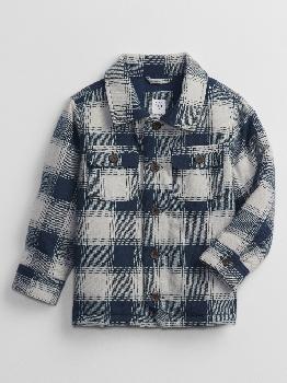 Куртка-рубашка в клетку для малышей Gap Factory