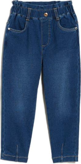 Вязаные джинсовые брюки Paperbag Flapdoodles