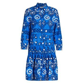 Платье-рубашка с принтом Tilly SALONI