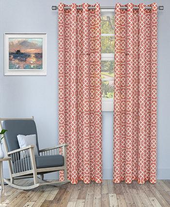 """Полупрозрачные панели для штор с сотовым рисунком, набор из 2 шт., 52 """"x 63"""" Superior"""