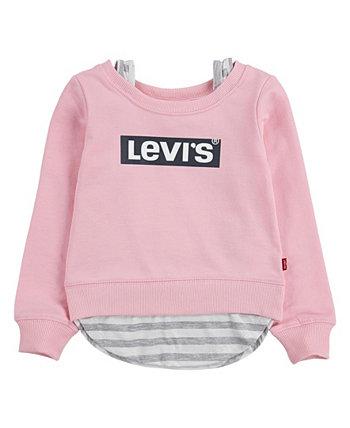 Многослойная толстовка для маленьких девочек Levi's®