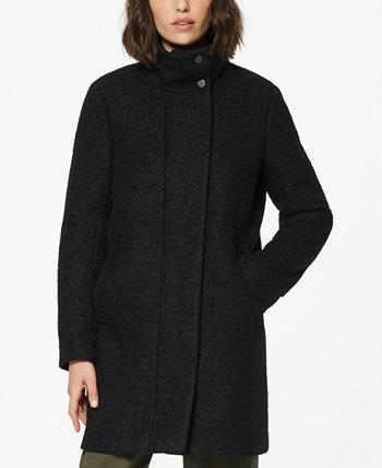 Пальто из букла с воротником-стойкой Verda Marc New York by Andrew Marc