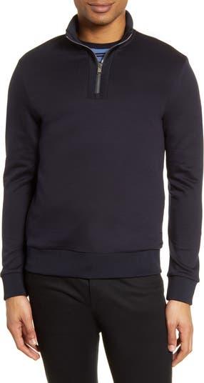 Пуловер с застежкой-молнией стандартного кроя BOSS Sidney BOSS Hugo Boss