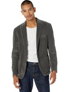 Вельветовая куртка с заостренными лацканами на двух пуговицах Eleventy