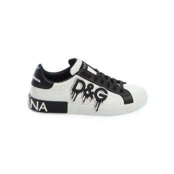 Низкие кроссовки с логотипом Dolce & Gabbana
